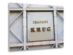Entrance to Champagne Krug, Reims, Champagne, Marne, Ardennes, France by Per Karlsson