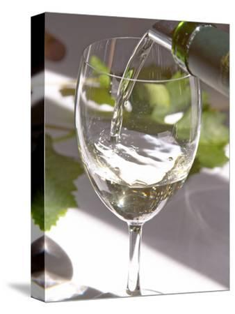 Glass of White Wine, Chateau Belgrave, Haut-Medoc, Grand Crus Classee, France