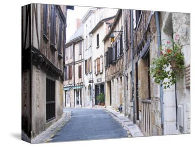 Old Town with Stone and Wooden Beam Houses, Bergerac, Dordogne, France