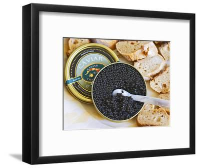 Tin of Black Caviar and Mother-Of-Pearl, Caviar Et Prestige, Saint Sulpice Et Cameyrac