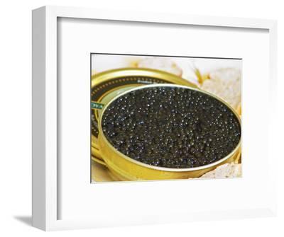 Tin of Black Caviar with Bread, Caviar Et Prestige, Saint Sulpice Et Cameyrac