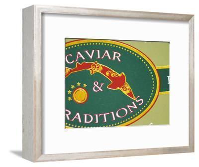 Tin of Caviar, Caviar Et Prestige, Saint Sulpice Et Cameyrac, Entre-Deux-Mers, Bordeaux, France