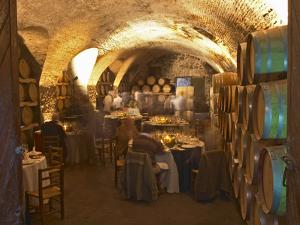 Underground Barrel Aging Room, Bodega Juanico Familia Deicas Winery, Juanico, Canelones, Uruguay by Per Karlsson