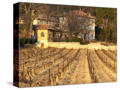 Winery Building at Chateau Saint Cosme, Gigondas, Vaucluse, Rhone, Provence, France