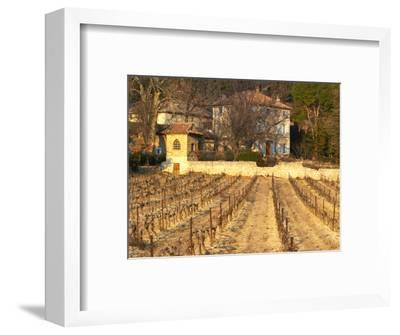 Winery Building at Chateau Saint Cosme, Gigondas, Vaucluse, Rhone, Provence, France