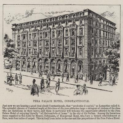 Pera Palace Hotel, Constantinople--Giclee Print