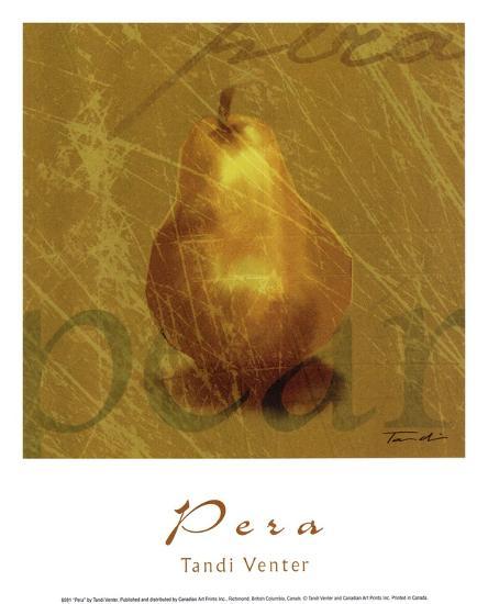 Pera-Tandi Venter-Art Print