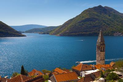 Perast, Bay of Kotor, UNESCO World Heritage Site, Montenegro, Europe-Alan Copson-Photographic Print