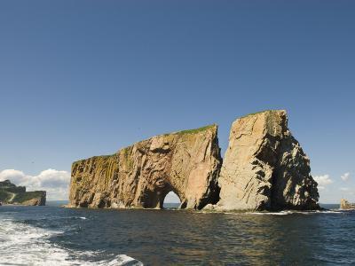 Perce Rock, Gaspe Peninsula, Province of Quebec, Canada, North America-Snell Michael-Photographic Print