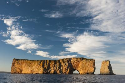 Perce Rock in the Gulf of Saint Lawrence-David Doubilet-Photographic Print