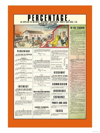 Percentage--Art Print