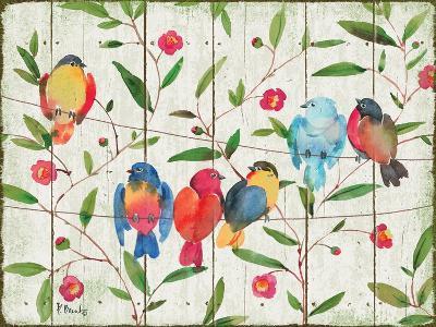 Perched Birds-Paul Brent-Art Print