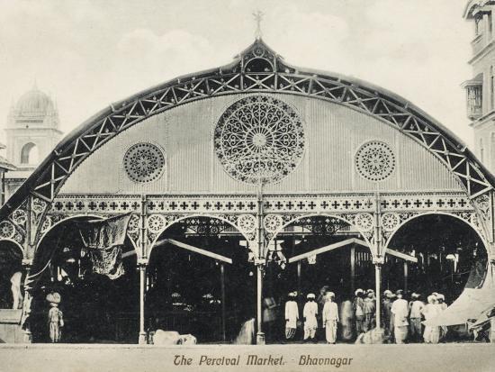 Percival Market, Gujarat, India--Photographic Print