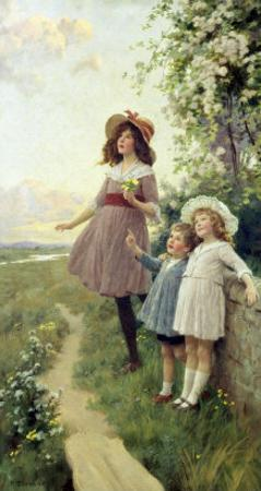 Listening to the Lark by Percy Tarrant