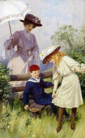Oops-a-Daisy by Percy Tarrant