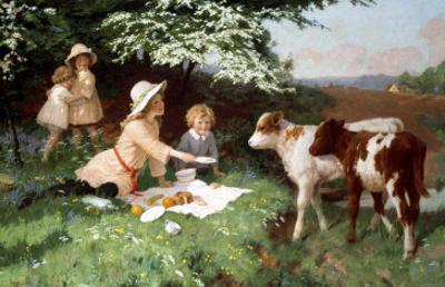 Uninvited Guests by Percy Tarrant