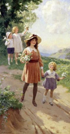 Wild Roses by Percy Tarrant