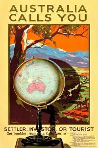 Australia Calls You by Percy Trompf