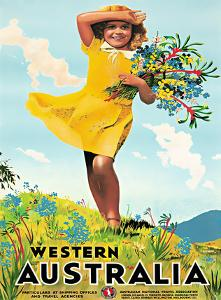 Western Australia / Australian National Travel Association by PERCY TROMPF