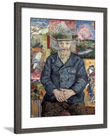Père Tanguy (Father Tanguy)-Vincent van Gogh-Framed Art Print