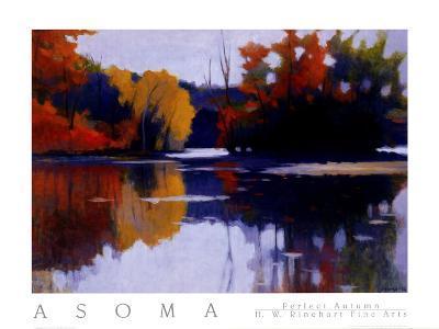 Perfect Autumn-Tadashi Asoma-Art Print
