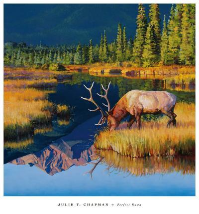 Perfect Dawn-Julie Chapman-Art Print