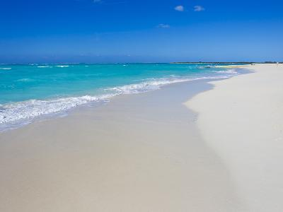 Perfect Paradise White Sand Beaches and the Blue Caribbean Sea-Mike Theiss-Photographic Print