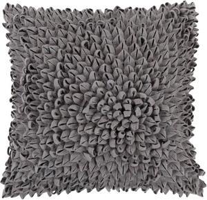 Perfect Petal Down Fill Pillow - Charcoal
