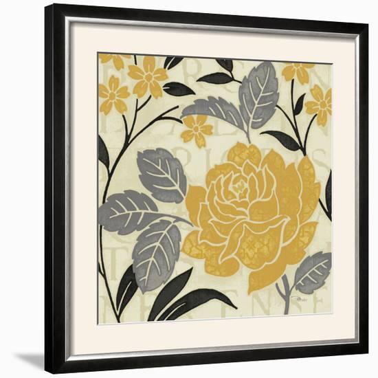 Perfect Petals II Yellow-Pela Design-Framed Photographic Print