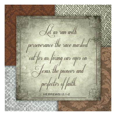 Perfecter Of Faith-Melody Hogan-Art Print