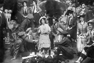 Performance of the Gay Gordons, C1907--Giclee Print