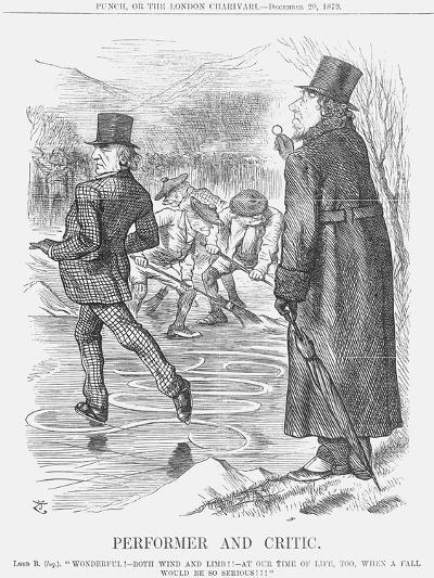 Performer and Critic, 1879-Joseph Swain-Giclee Print