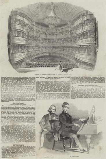 Performing Arts in London--Giclee Print