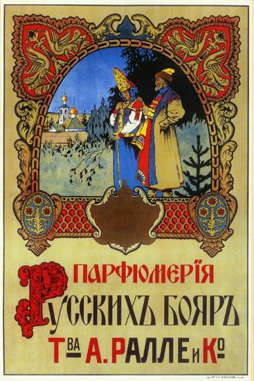 Perfume for Boyars - Russian Nobles and Royalty, Ralle and Co--Art Print