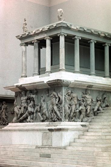Pergamon Altar, 2nd Century Bc--Photographic Print