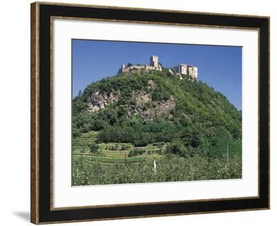Pergine Castle, 12th Century, Pergine, Trentino-Alto Adige, Italy--Framed Photographic Print