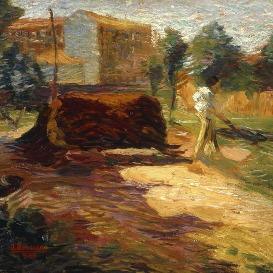 Periferia, 1909-Umberto Boccioni-Giclee Print