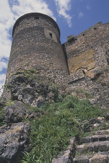 Perimeter Tower of Chateau of Busseol, Founded in 12th Century, Auvergne, France--Photographic Print