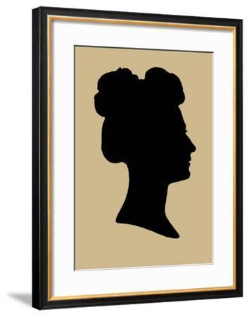 Period Silhouette I-Vision Studio-Framed Art Print