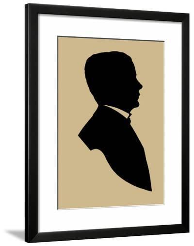 Period Silhouette V-Vision Studio-Framed Giclee Print