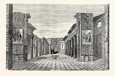 Peristyle of the House of the Questor--Giclee Print