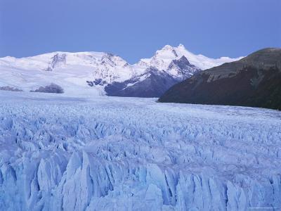 Perito Moreno Glacier and Andes Mountains, El Calafate, Argentina-Gavin Hellier-Photographic Print