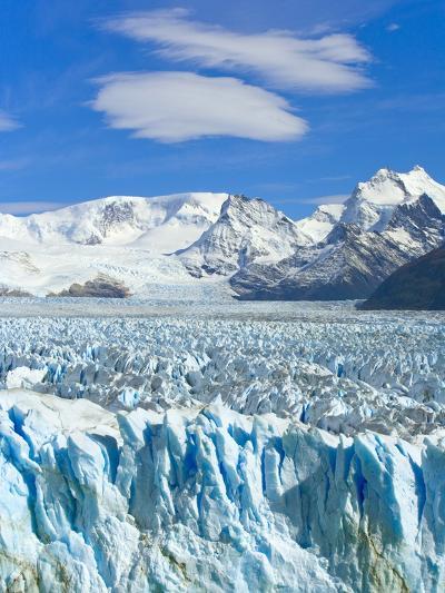 Perito Moreno Glacier and Patagonian Andes-John Eastcott & Yva Momatiuk-Photographic Print