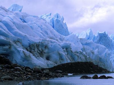 Perito Moreno Glacier and Terminal Moraine, Los Glaciares National Park, Argentina-Pete Oxford-Photographic Print
