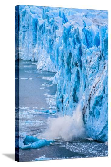 Perito Moreno Glacier Argentina--Stretched Canvas Print