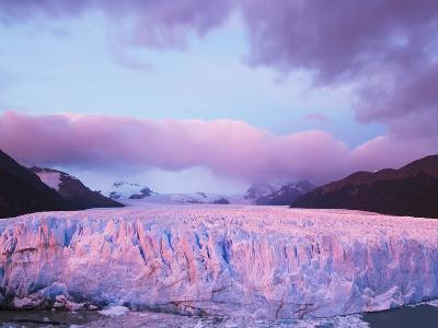 Perito Moreno Glacier at Sunrise-Theo Allofs-Photographic Print