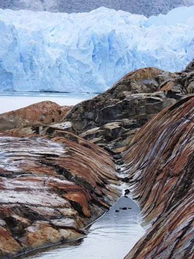 Perito Moreno Glacier in Patagonia-Frank Lukasseck-Photographic Print
