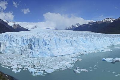 Perito Moreno Glacier, Panoramic View, Argentina, South America, January 2010-Mark Taylor-Photographic Print
