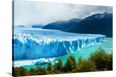 Perito Moreno GlacierPatagonia--Stretched Canvas Print