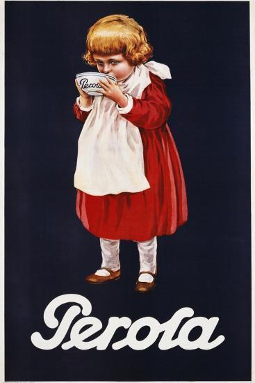 Perola Hot Chocolate Advertisement Poster--Giclee Print